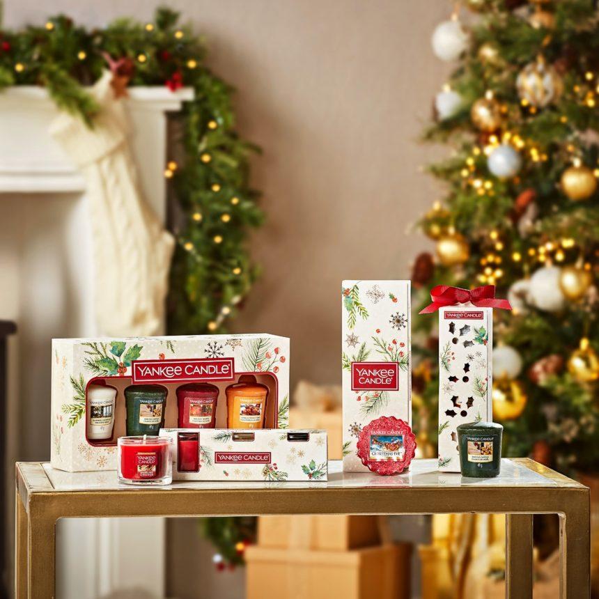 Festeggia il Natale con le fragranze Yankee Candle