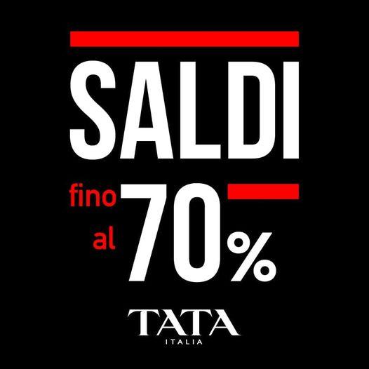 SALDI TATA ITALIA FALL-WINTER 20/21!