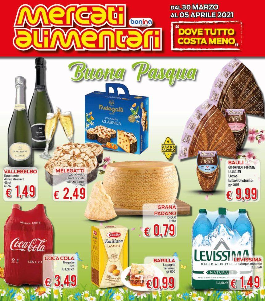 Supermercato Mercati Alimentari: LE OFFERTE DI PASQUA!
