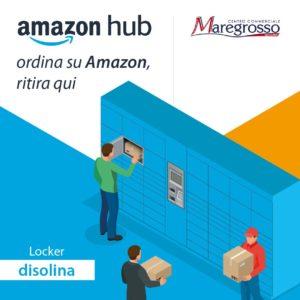 AMAZON HUB LOCKER: ORDINA SU AMAZON, RITIRA QUI!